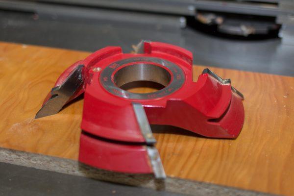 Fresa unión a 45 grados para machiembrar